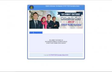 Sistem informasi Akademik STKIP PGRI Sumatera Barat